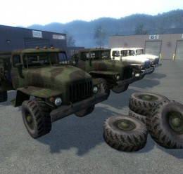 URAL 43206 (Driveable, ARMA2) For Garry's Mod Image 1