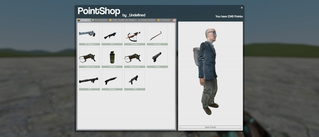Pointshop Player models (1 2) by SnApZzZ | garrysmods org