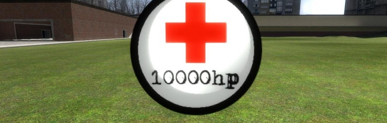 10000 Hp Ball! For Garry's Mod Image 1