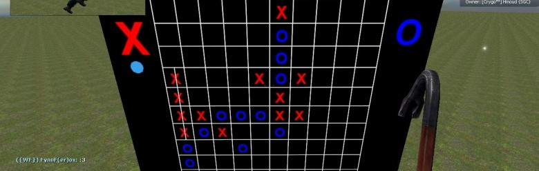 Tic Tac Toe game For Garry's Mod Image 1