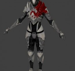 Dragon Knight Armour from ME2 For Garry's Mod Image 2