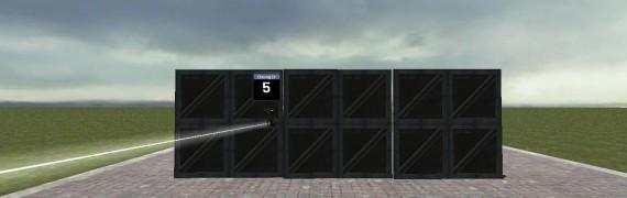 keypad door