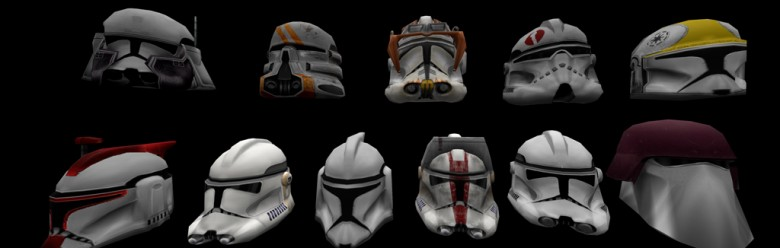 Clone Troopers helmets For Garry's Mod Image 1