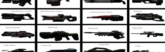 UT2004 Weapons