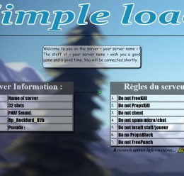 [FR/EN] Simple loadin screen For Garry's Mod Image 1