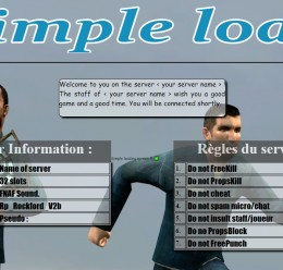 [FR/EN] Simple loadin screen For Garry's Mod Image 3