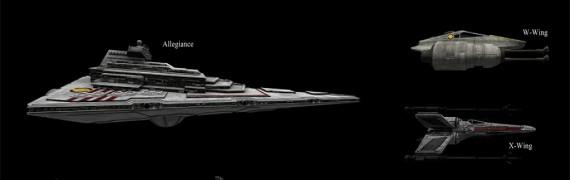 SW EaW KOTOE Clones ships