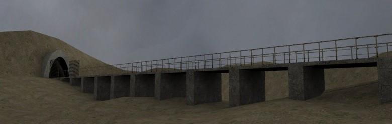 gm_desert_bridge.zip For Garry's Mod Image 1