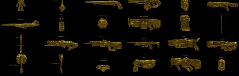 DOOM Golden Guns (props) For Garry's Mod Image 1