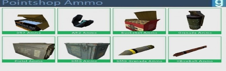 Pointshop Ammo For Garry's Mod Image 1