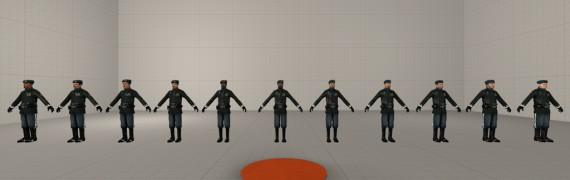 Combine Officers High-Poly
