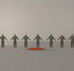 COD4 Pilots (Redux HL2 Faces) For Garry's Mod Image 1