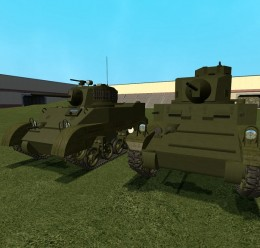 ACF M3 and M5 Light Tank For Garry's Mod Image 1