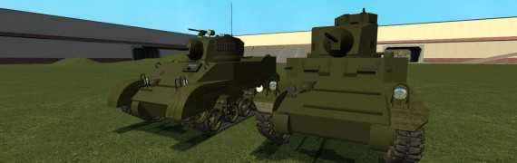 ACF M3 and M5 Light Tank