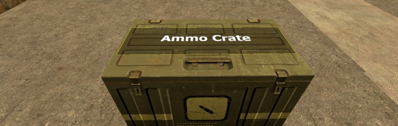 AMMO CRATE For Garry's Mod Image 1