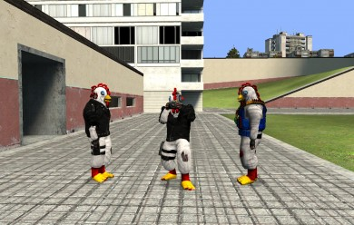 New Killing Floor Chickens ski For Garry's Mod Image 2