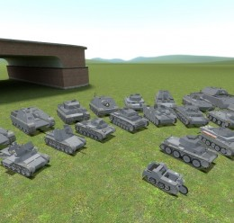 ACF German tank pack For Garry's Mod Image 1