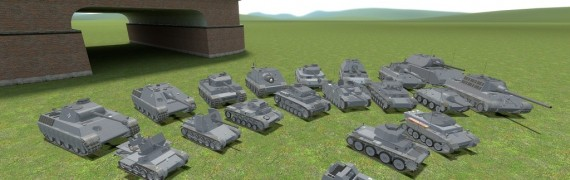 ACF German tank pack