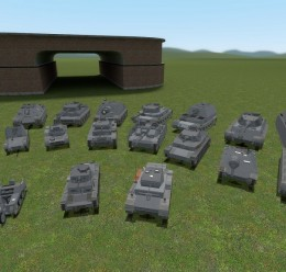 ACF German tank pack For Garry's Mod Image 2