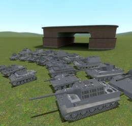 ACF German tank pack For Garry's Mod Image 3