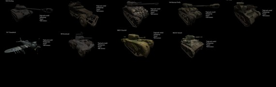 COH Enhanced Vehicles Pack