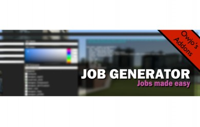 Job Generator V1.0.2 For Garry's Mod Image 1