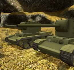 ACF KV2 Tank Pack For Garry's Mod Image 1