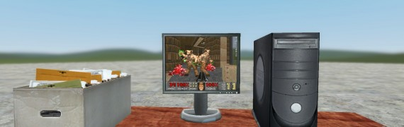 DOOM 2 Monitor