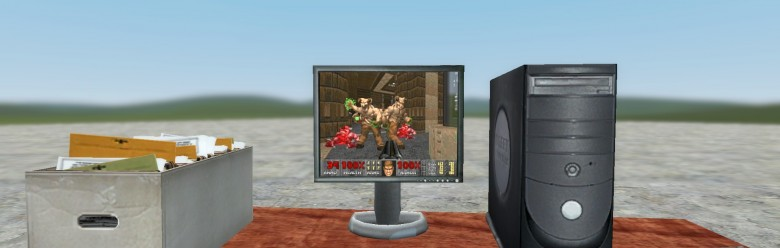 DOOM 2 Monitor For Garry's Mod Image 1