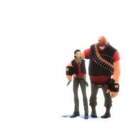 tf2_alyx_reskin_red_final.zip For Garry's Mod Image 3