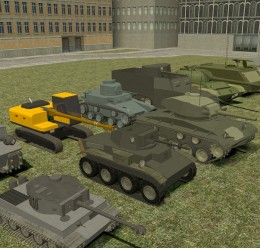 Dhg's 2016 ACF tank pack For Garry's Mod Image 1