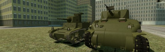 ACF M2A4 and M4A1 Sherman Pack