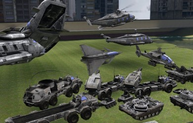 endwar_ef_vehicles.zip For Garry's Mod Image 1