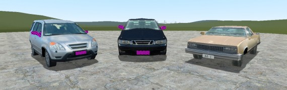 Ported Car Models