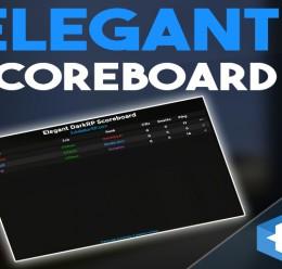 Elegant DarkRP Scoreboard For Garry's Mod Image 1