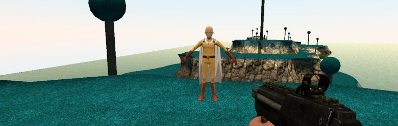 One Punch Man Npc For Garry's Mod Image 1
