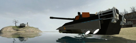 HK-6 MKI ACF Powered HoverTank