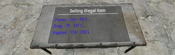 DARKRP|POLICE SELLING ILLEGAL