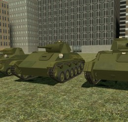 ACF T-60,T-70 and T-80 For Garry's Mod Image 1