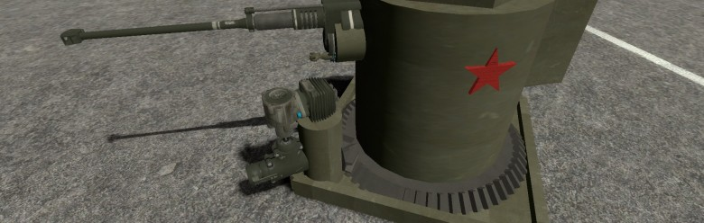 Vodka Mk1 - Auto ACF Turret For Garry's Mod Image 1