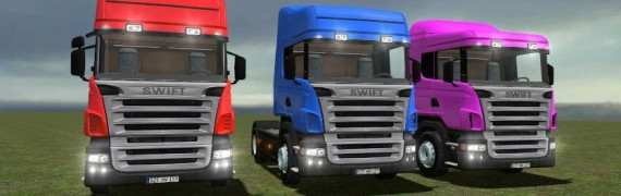 Drivable Scania Trucks Pack