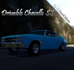 Drivable Chevelle SS For Garry's Mod Image 1
