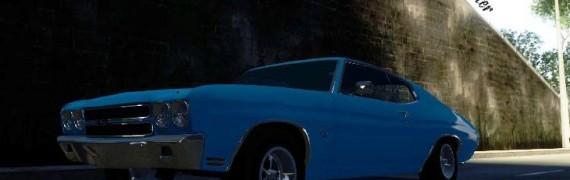 Drivable Chevelle SS