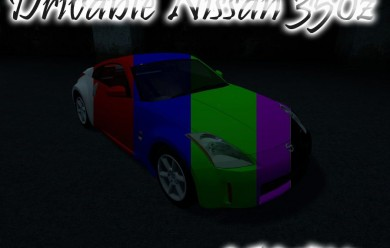 Drivable Nissan 350z For Garry's Mod Image 2