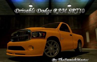 Drivable Dodge Ram SRT10 For Garry's Mod Image 1
