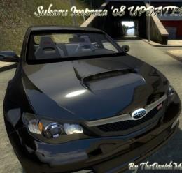 Subaru Impreza WRX STI 2008 For Garry's Mod Image 1