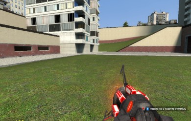 Working red rotating physgun For Garry's Mod Image 1