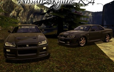 Drivable Nissan Skyline R34 For Garry's Mod Image 1