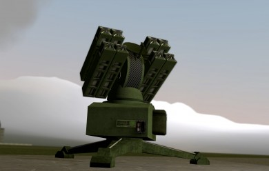 9K31 Strela-1x8 SAM [ACF] For Garry's Mod Image 1