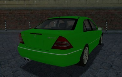 Mercedes C32 AMG For Garry's Mod Image 2